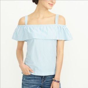 NEW J.Crew Factory Off Shoulder Blouse